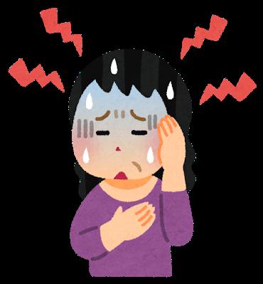 更年期めまい頭痛うつ病自律神経