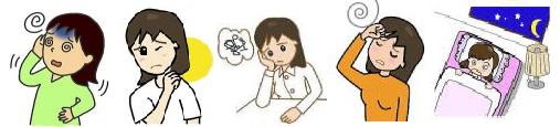 めまい立ちくらみメニエル耳鳴難聴自律神経失調症更年期不眠症